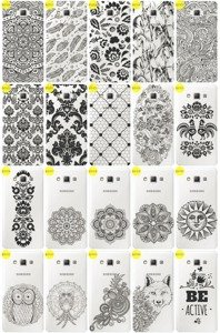 Back Case Cover Overprint Kreatui LaceCase SAMSUNG GALAXY A7 SM-A700