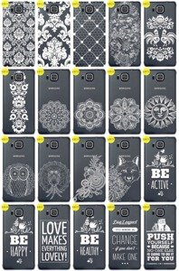 Back Case Cover Overprint Kreatui LaceCase SAMSUNG GALAXY ALPHA G850