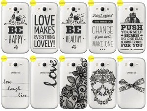 Back Case Cover Overprint Kreatui LaceCase SAMSUNG GALAXY GRAND I9080