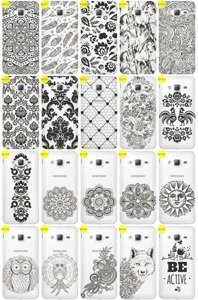 Back Case Cover Overprint Kreatui LaceCase SAMSUNG GALAXY J3 2016 J320