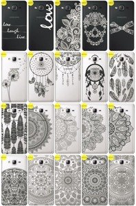 Back Case Cover Overprint Kreatui LaceCase SAMSUNG GALAXY ON7 SM-G600