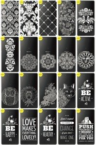 Back Case Cover Overprint Kreatui LaceCase SONY XPERIA M5