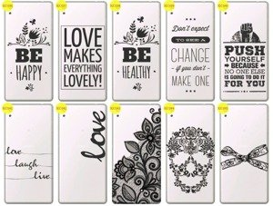 Back Case Cover Overprint Kreatui LaceCase SONY XPERIA XA ULTRA