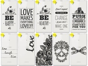 Back Case Cover Overprint Kreatui LaceCase SONY XPERIA Z1