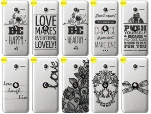Back Case Cover Overprint Kreatui LaceCase VODAFONE SMART SPEED 6