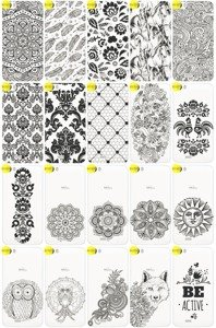 Back Case Cover Overprint Kreatui LaceCase WIKO LENNY