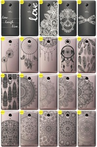 Back Case Cover Overprint Kreatui LaceCase WIKO ROBBY + GLASS 9H