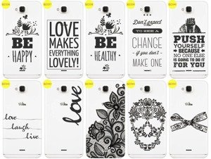 Back Case Cover Overprint Kreatui LaceCase WIKO SLIDE
