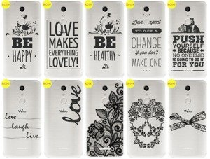 Back Case Cover Overprint Kreatui LaceCase WIKO UPULSE LITE + GLASS 9H