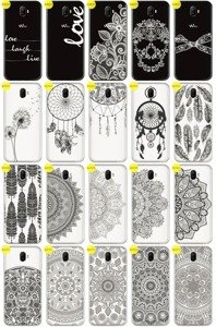 Back Case Cover Overprint Kreatui LaceCase WIKO WIM + GLASS 9H