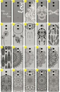 Back Case Cover Overprint Kreatui LaceCase XIAOMI REDMI PRO + GLASS 9H