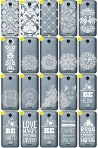 Back Case Cover Overprint Kreatui LaceCase ZTE BLADE A310