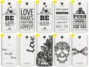 Back Case Cover Overprint Kreatui LaceCase ZTE BLADE L5