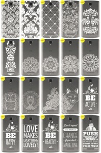 Back Case Cover Overprint Kreatui LaceCase ZTE BLADE L5 + GLASS 9H