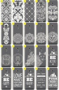Back Case Cover Overprint Kreatui LaceCase ZTE BLADE V7 LITE