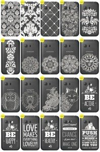 Back Case Cover Overprint LaceCase SAMSUNG GALAXY YOUNG 2 SM-G130