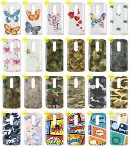 Back Case Kreatui PRINT COVER ArtCase LENOVO MOTO X FORCE + GLASS 9H