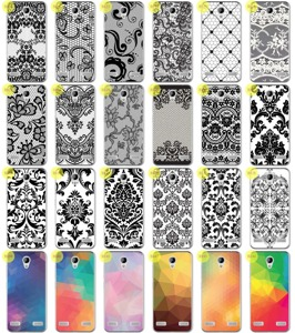 Back Case Kreatui PRINT COVER ArtCase ZTE BLADE A520 + GLASS 9H