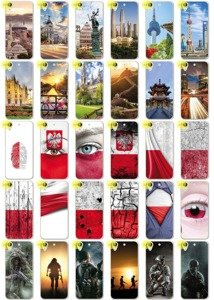Back Case Kreatui PRINT COVER PhotoCase HTC DESIRE 650 + GLASS 9H