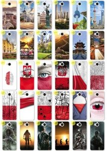 Back Case Kreatui PRINT COVER PhotoCase HUAWEI Y6 2017 + GLASS 9H
