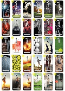 Back Case Kreatui PRINT COVER PhotoCase ZENFONE GO ZB552KL + GLASS 9H