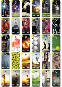 Back Case Kreatui PRINT COVER PhotoCase ZTE BLADE A520 + GLASS 9H