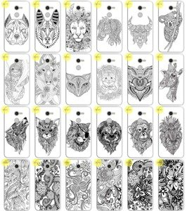 Back Case Print Cover 0.3mm Kreatui ArtCase ALCATEL A3 5.0