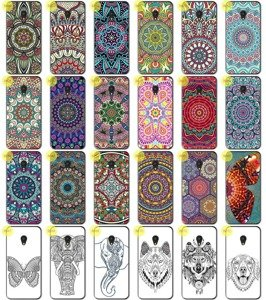 Back Case Print Cover 0.3mm Kreatui ArtCase ALCATEL U5 LTE
