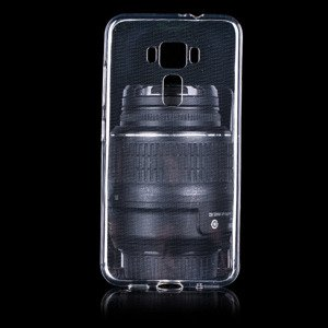 CASE COVER ASUS ZENFONE 3 ZE520KL slim 0.3mm TRANSPARENT
