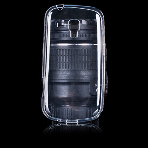 CASE COVER GEL RUBBER JELLY SAMSUNG GALAXY TREND S7560 S7580 CLEAR