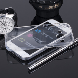 CASE COVER SAMSUNG GALAXY CORE PRIME G360 0.3mm CLEAR NO WATER VAPOR