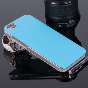 CASE COVER TPU TPU WINDOW VIEW FOR HUAWEI HONOR 4X SKYBLUE