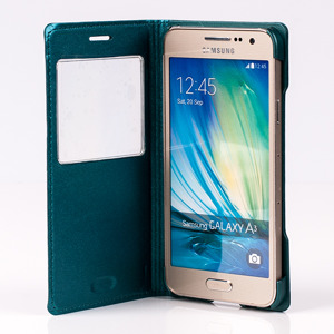 CASE COVER TPU WINDOW VIEW FOR SAMSUNG GALAXY A3 SM-A300