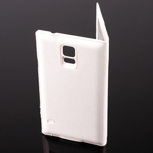 CASE COVER TPU WINDOW VIEW FOR SAMSUNG GALAXY S5 SM-G900 WHITE