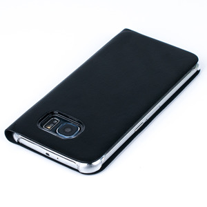 CASE COVER TPU WINDOW VIEW FOR SAMSUNG GALAXY S6 SM-G920 BLACK