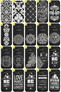 Case Cover Overprint Kreatui LaceCase SAMSUNG GALAXY CORE LTE SM-G386