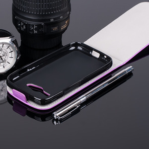FLIP FLEX CASE COVER magnet SAMSUNG GALAXY TREND 2 LITE G318 PURPLE