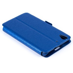 FLIP SLIM CASE COVER TPU WINDOW VIEW FOR HUAWEI Y6 BLUE
