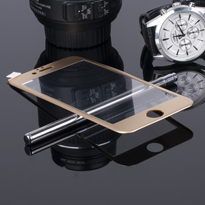 FULL FACE Tempered Glass Film Screen Protector for iPhone 6 4.7' GOLD