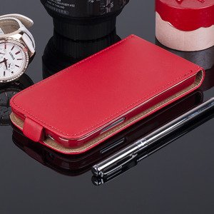 SLIM FLIP CASE COVER magnet SAMSUNG GALAXY CORE PRIME G360 RED