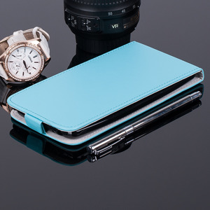 SLIM FLIP FLEX CASE COVER RUBBER magnet LG G4 STYLUS SKYBLUE color