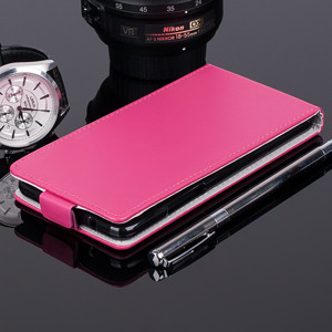 SLIM FLIP FLEX CASE COVER RUBBER magnet WIKO HIGHWAY PURE PINK