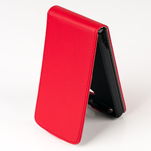 SLIM FLIP FLEX CASE COVER magnet RUBBER SONY XPERIA Z5 COMPACT RED