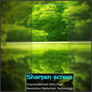 Tempered Glass Film 9H Oleophobic Screen Protector BLACKBERRY LEAP