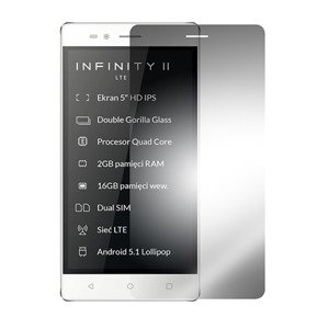 Tempered Glass Film 9H Screen Protector MYPHONE INFINITY II 2 LTE