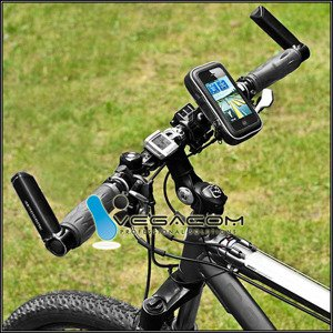 UNIVERSAL BICYCLE MOUNT Holder Handle FOR SMARTPHONE 150 mm x 85 mm