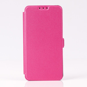 WALLET CASE COVER ultra slim pocketbook magnet HUAWEI HONOR 7 PINK