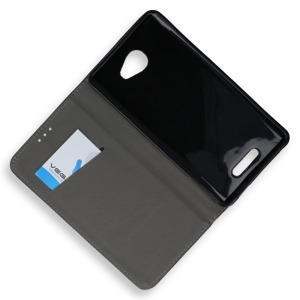 WALLET FLIP CASE COVER MAGNET pocketbook ALCATEL POP 4S BLACK