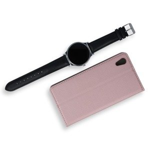 WALLET FLIP CASE COVER Magnetic SmartCase SONY XPERIA XA1 ROSE GOLD