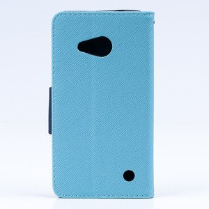 WALLET FLIP CASE COVER pocketbook RUBBER MICROSOFT LUMIA 550 MINT